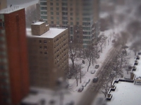 Un clip en tilt-shift