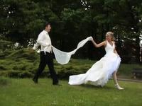 Svadobné video, klip z fotografovania