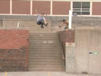 Don and I filmed this in attempt to make him jump from flow to pro.  Andy Wegener told him after the Accidental Machines premiere that if he kept up doing those big gaps there could be a spot for him on Razors.  1.5 years later Don leads the polls...