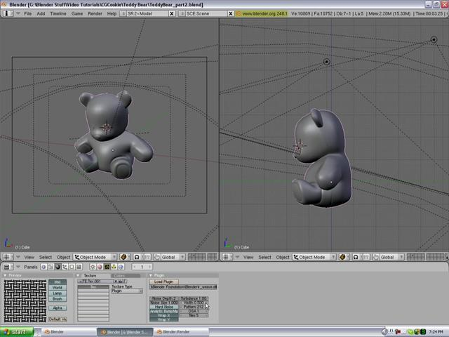 Create a  Teddy Bear Part 2