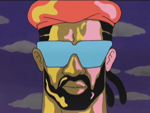 Thumbnail of video Major Lazer feat. Mr. Lexx and Santigold - Hold The Line