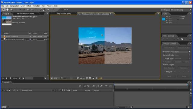 Basic Color Correction Tutorial