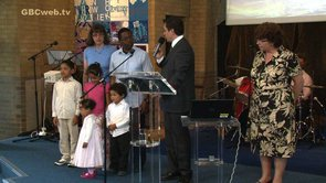 The Thomas family are Commissioned for their Bosnia Ministry