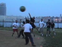 Circle Rules Football 2009 - First Official CRF League Game