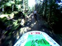 Brian Lopes railing it down A-line at Whistler...