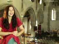 "Sarah Lynch interviewing Lisa Hannigan for ""I Love Limerick"""