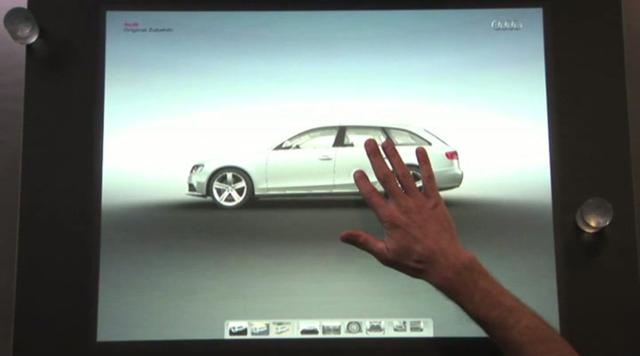 Thumbnail of video Audi Car Configurator on Surface @ IAA 2009