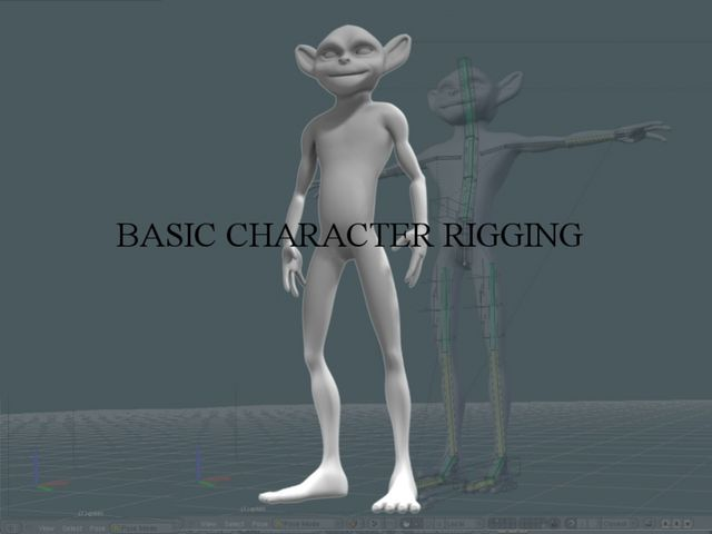 Basic Character Rigging and Skinning Tutorial