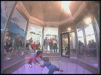 3yr-old Flying in AirKix Wind Tunnel