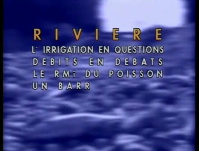 Τα προβλήματα των ποταμών α' μέρος