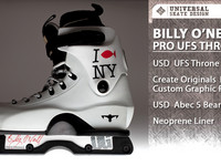 """I chose a white skate because white skates look good and clean and the UFS Thrones skates are the best for me. The new heel plate gives the skates a bit less weight but the main thing for me is the much slimmer look. The frames are Create Origina..."
