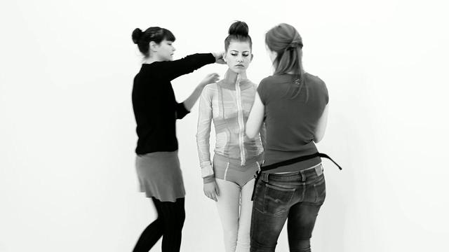 Backstage Fashion Shoot