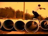 this was my part in Sink/Swim, a local video finished in 2006. All the skating here is from McAllen, Texas. our crew was at a really sick point here-- raymond was doing mach 10 tru fishbrains, rey soto was droppin hammers on the daily, and josh wa...