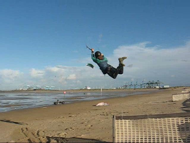 KiteJump Zeebruges 29_11_2009