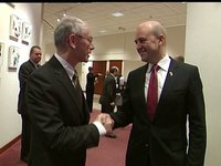 Handover Swedish Presidency: Herman Van Rompuy