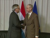 With Jean-Claude Juncker, Prime Minister of Luxembourg
