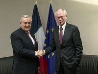 With Jean-Pierre Raffarin