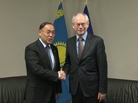 Meeting with OSCE Chairman-in-office