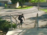 Sean Cowen blading it up in California