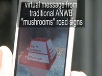 3d augmented reality ANWB/ Layar