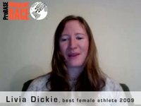 ProBASE Interview with Livia Dickie, best female athlete 2009
