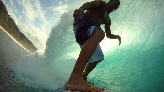 GoPro HD Hero Camera: Kalani Robb - Slow Motion Pipeline