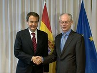 Meeting with Spanish Prime Minister