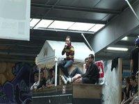 20 et 21 mars 2010 au Hangar skatepark de Nantes, France. Contest WRS ***