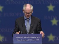 European Council – intermediary press conference