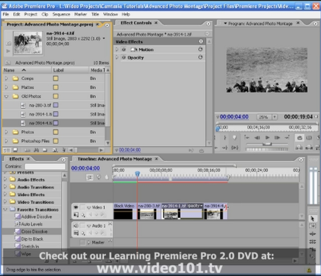 Create an Advanced Photo Montage in Premiere Pro!