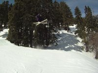 Chris and I headed up to mtn high after the recent snow for a few last runs of the season. awesome day!
