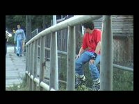 The edit is a profile on Tomek Fajst, a popular and skilled Polish rollerblader from Wyszków, Poland who is currently recovering after an operation of torn cruciate ligaments.  The short film is one of 3 supplements to Made in Poland rollerblading...