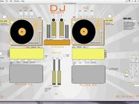 Dj Booth Created using Cycling 74's Max 5