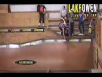 This section of our video starts out with some of our inline campers and staff giving you a glimpse into the life of an inline skater here at Lake Owen. We've got some contest footage, staff demo, camper skills, vert party,  and a look back at our...