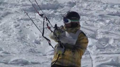 cortina snowkite contest 2009