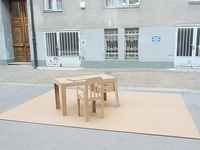 The Pop-Up Cardboard Office