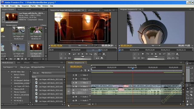 How to Edit Video Using Adobe Premiere Pro CS4